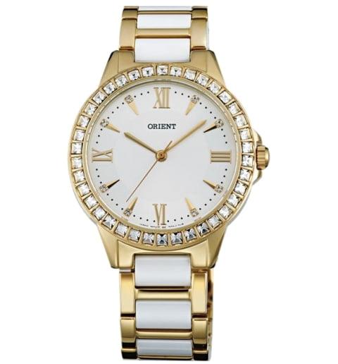 Женские часы ORIENT QC11002W (FQC11002W0) с камнями