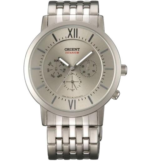 Часы ORIENT RL03004K (FRL03004K0) с титановым браслетом