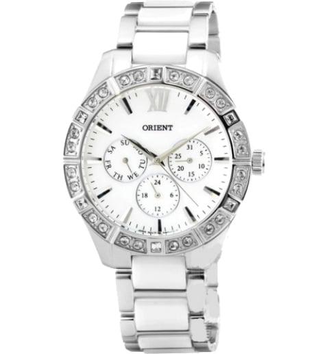 Женские часы ORIENT SW01004W (FSW01004W0) с камнями