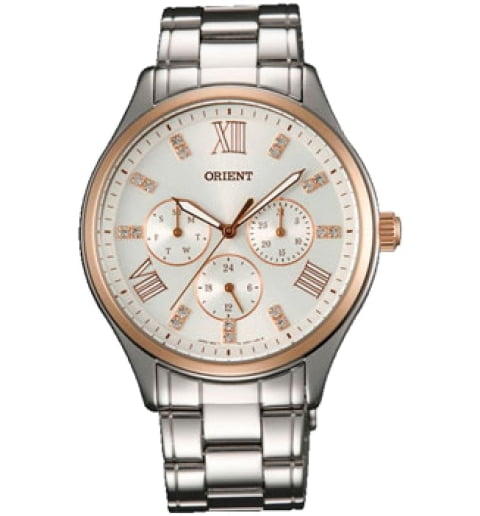 Женские часы ORIENT SW05004W (FSW05004W0) с камнями