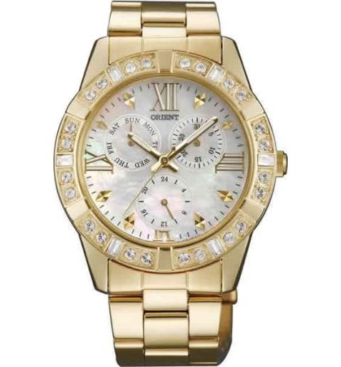 Женские часы ORIENT SX07003W (FSX07003W0) с камнями