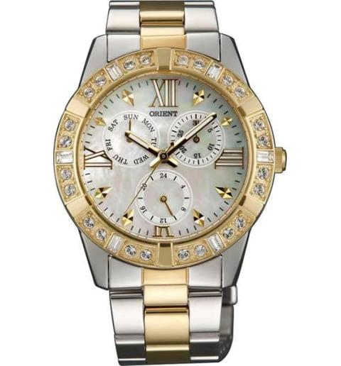 Женские часы ORIENT SX07004W (FSX07004W0) с камнями