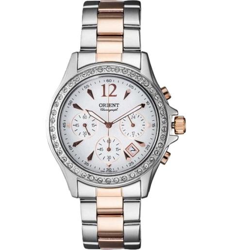 Женские часы ORIENT TW00003W (FTW00003W0) с камнями