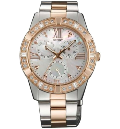 Женские часы ORIENT UT0B002W (FUT0B002W0) с камнями