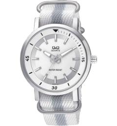 Часы Q&Q Q892-311 с текстильным браслетом