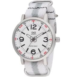 Часы Q&Q Q892-314 с текстильным браслетом