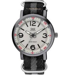 Часы Q&Q Q892-503 с текстильным браслетом