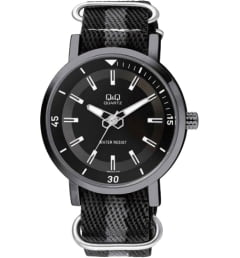 Часы Q&Q Q892-512 с текстильным браслетом