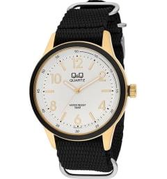 Часы Q&Q Q922-114 с текстильным браслетом