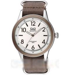 Часы Q&Q Q922-334 с текстильным браслетом