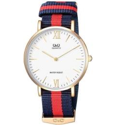 Часы Q&Q Q974-131 с текстильным браслетом