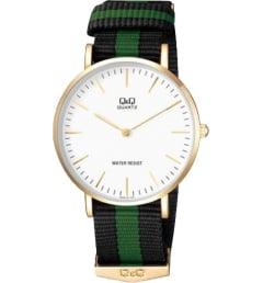 Часы Q&Q Q974-151 с текстильным браслетом