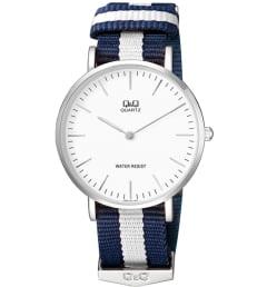 Часы Q&Q Q974-331 с текстильным браслетом