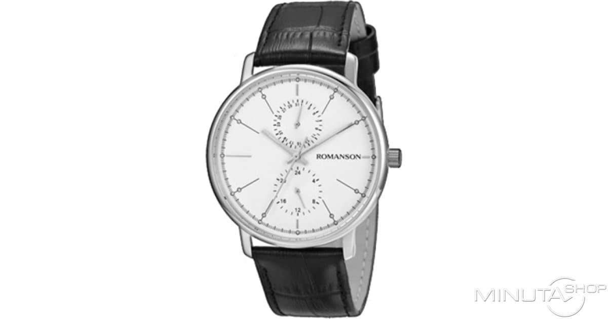 0b57ab11 Часы Romanson TL3236FMW(WH)BK Купить По Ценам MinutaShop