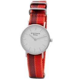 Часы Romanson TL6A30LLW(WH)BU с текстильным браслетом
