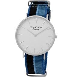 Часы Romanson TL6A30MMW(WH) с текстильным браслетом