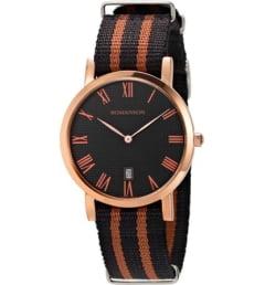 Часы Romanson TL3252UUR(BK) с текстильным браслетом