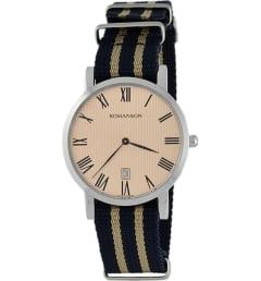 Часы Romanson TL3252UUW(RG) с текстильным браслетом