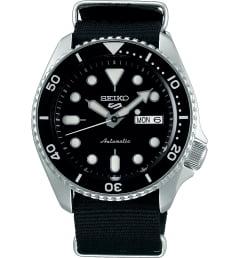 Часы Seiko SRPD55K3 с текстильным браслетом