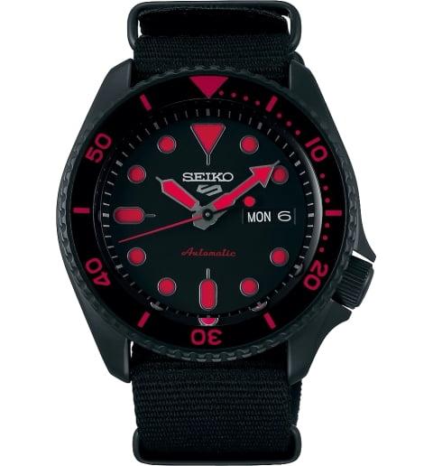 Часы Seiko SRPD83K1 с текстильным браслетом