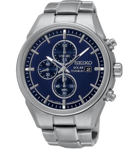 Часы Seiko SSC365P1 с титановым браслетом