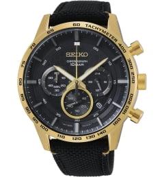 Часы Seiko SSB364P1 с текстильным браслетом