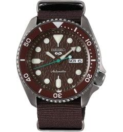Часы Seiko SRPD85K1 с текстильным браслетом