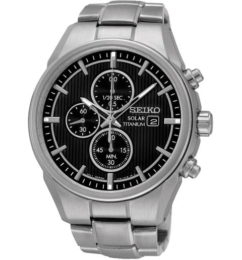 Часы Seiko SSC367P1 с титановым браслетом