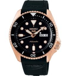 Часы Seiko SRPD76K1 с каучуковым браслетом