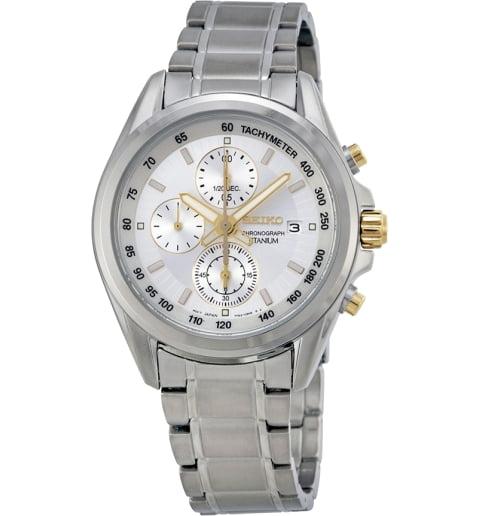 Часы Seiko SNDC95P1 с титановым браслетом