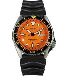 Часы Seiko SKX011J1 с каучуковым браслетом