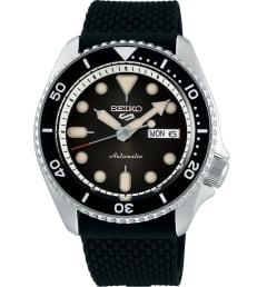 Часы Seiko SRPD73K2 с каучуковым браслетом