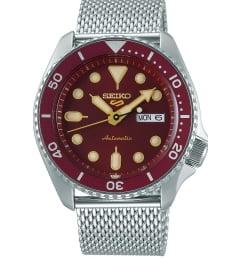 Seiko SRPD69K1 с красным циферблатом