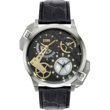 STORM DUALON BLACK LEATHER 47147/BK/BK
