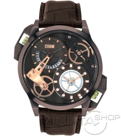 STORM DUALON BROWN LEATHER 47147/BR/BR