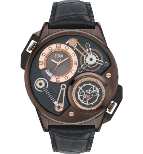 STORM DUALTRON LEATHER BROWN 47239/BR