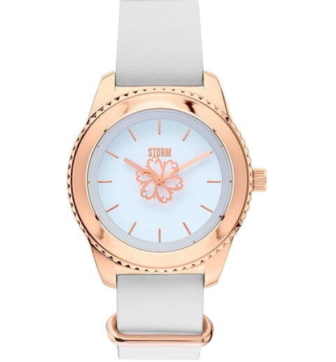 STORM LEORA LEATHER ROSE GOLD 47312/RG