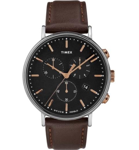 Timex TW2T11500 в латунном корпусе