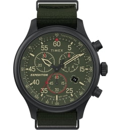 Timex TW2T72800 с зеленым циферблатом