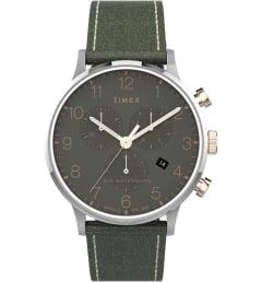 Timex TW2T71400 с зеленым циферблатом