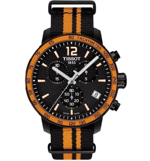 Часы Tissot T.095.417.37.057.00 с текстильным браслетом