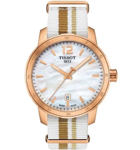 Часы Tissot T.095.410.37.117.00 с текстильным браслетом