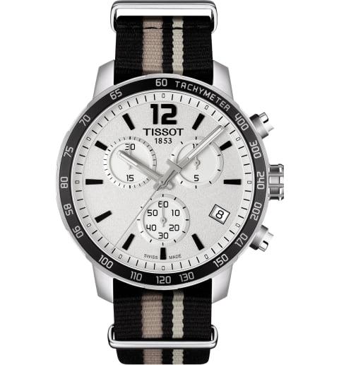 Часы Tissot T.095.417.17.037.10 с текстильным браслетом