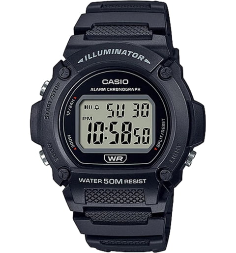 Дешевые часы Casio Collection W-219H-1A