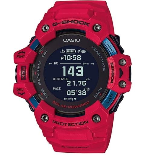Casio G-Shock GBD-H1000-4E с польсометром