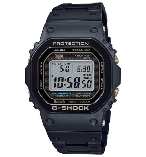 Часы Casio G-Shock GMW-B5000TB-1E на солнечной атарее